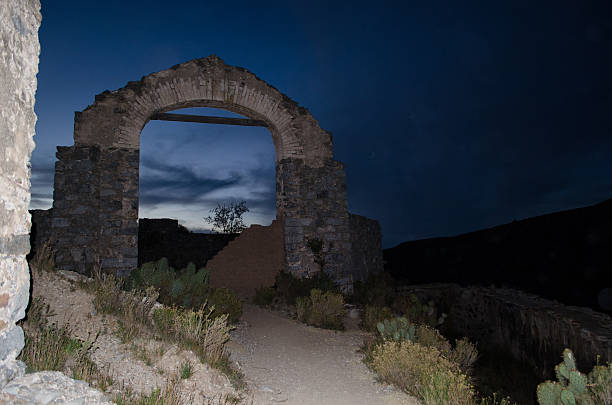 Ghost Town Arcs Ghost Town Arcs real de catorce stock pictures, royalty-free photos & images