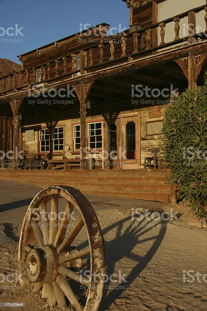 Ghost Town I royalty-free stock photo