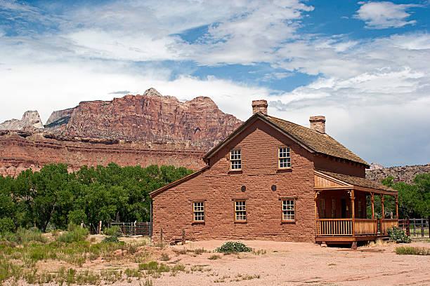 Geisterstadt der Grafton, Utah – Foto