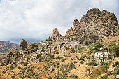 Ghost Town of Pentedattilo, Calabria, Italy