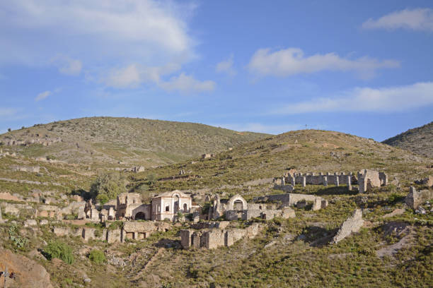 Ghost town Ghost town real de catorce stock pictures, royalty-free photos & images