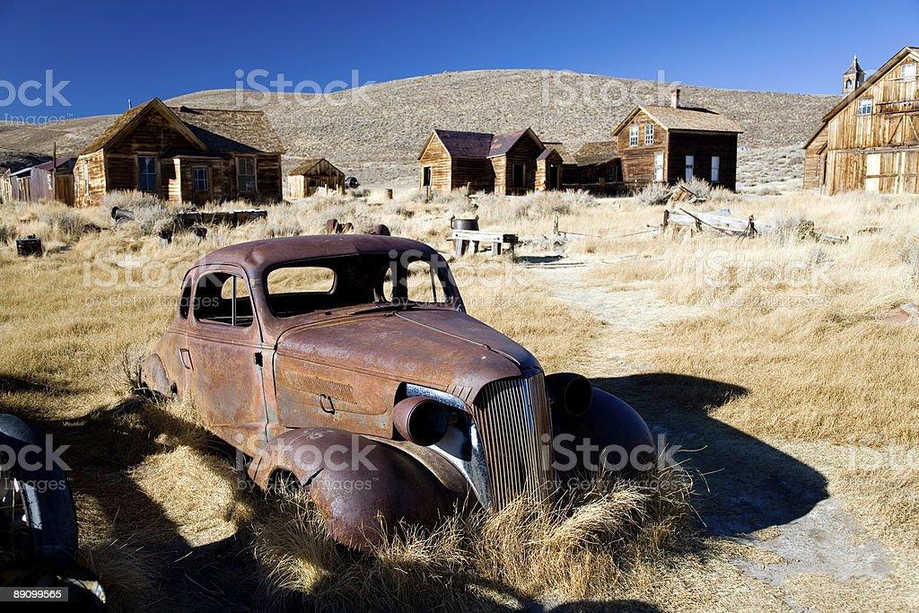 Ghost town Lizenzfreies stock-foto