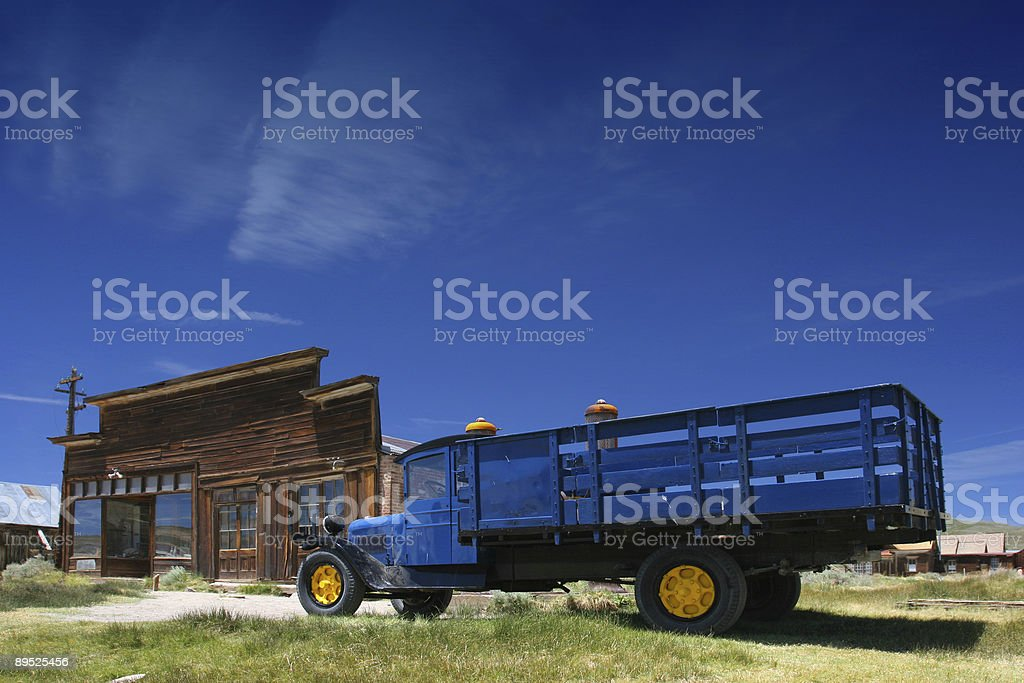 Ghost town royalty-free stock photo