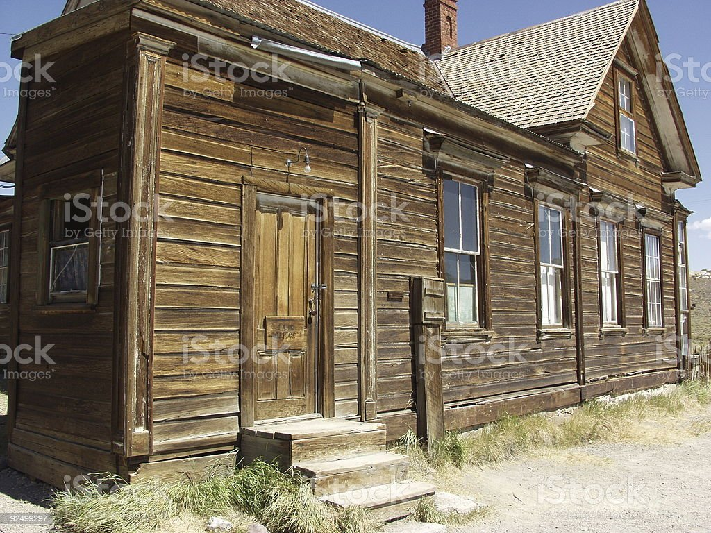 Ghost town (1) royalty-free stock photo
