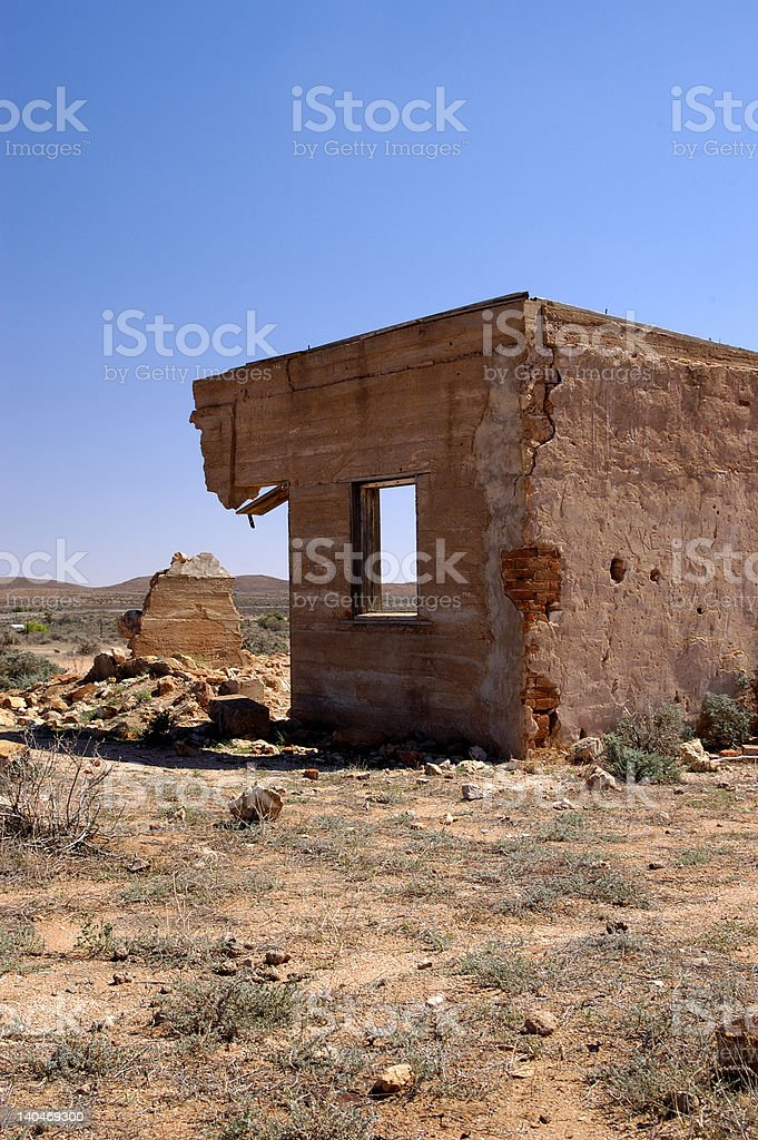 Ghost Town - Silverton, New South Wales royalty-free stock photo