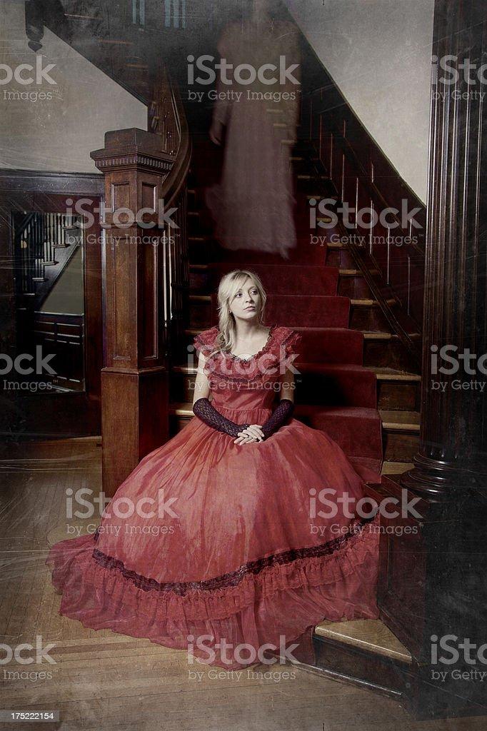 Ghostly Presence stock photo