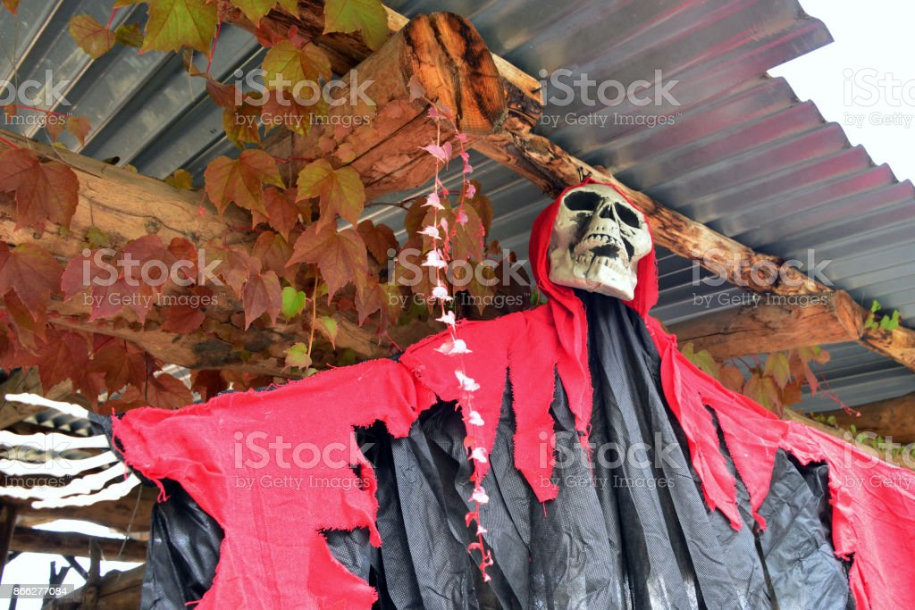 Halloween Costume 77084.Ghosts And Zombies Prepare For Halloween Night Stock Photo