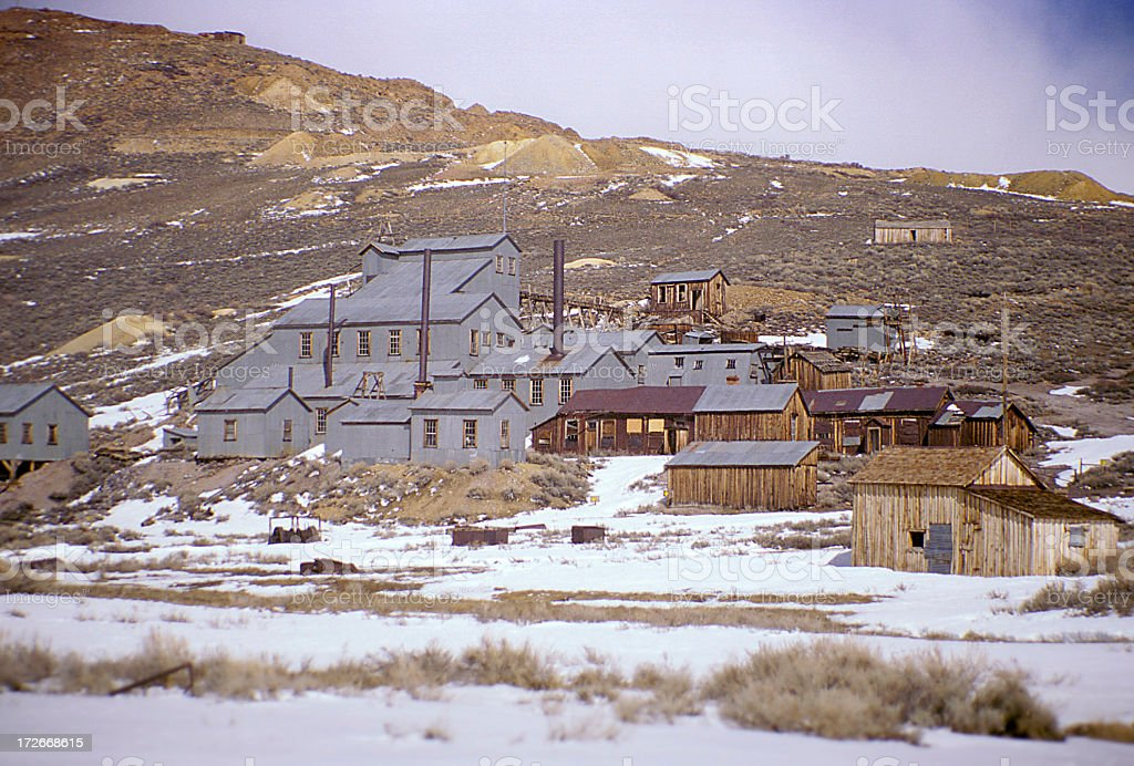 Ghosts of Bodie 3 royalty-free stock photo