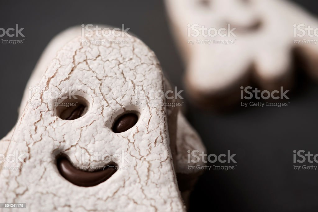 ghost-shaped cookies royalty-free stock photo
