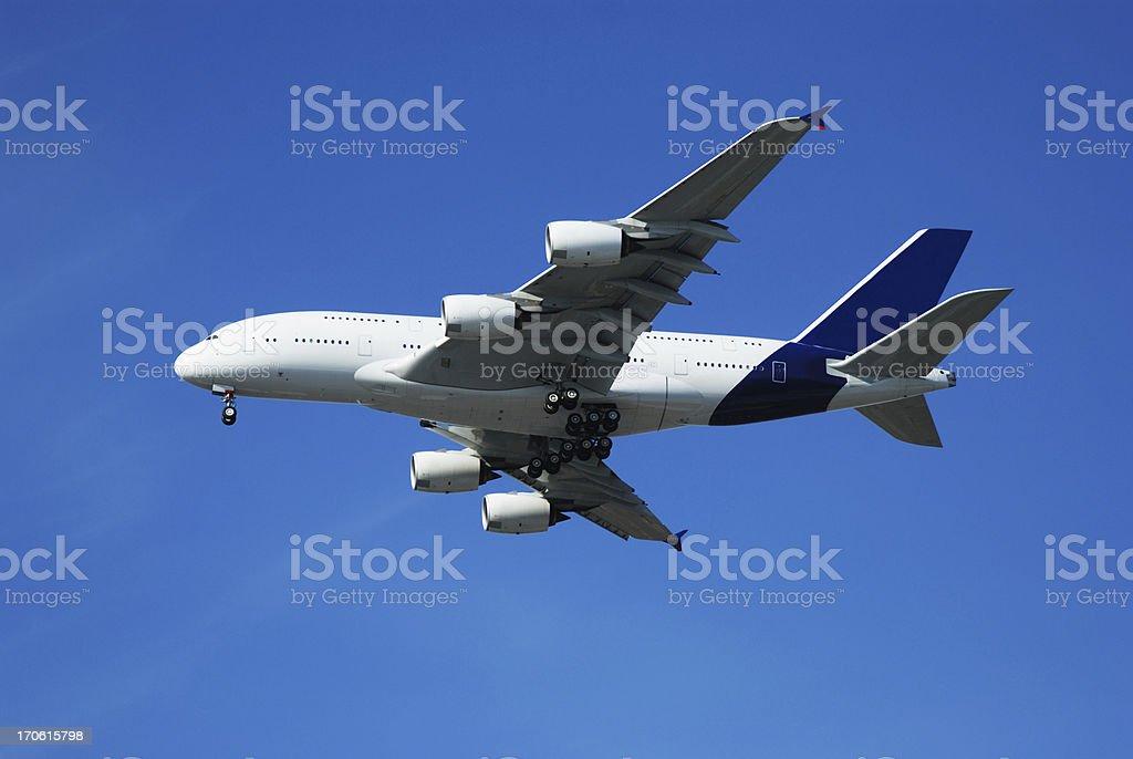 Giant 2 decks Airbus A380 stock photo