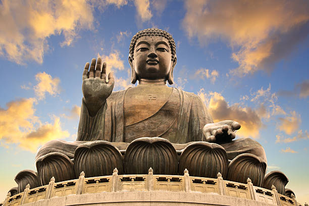 giant buddha - buddha stock photos and pictures