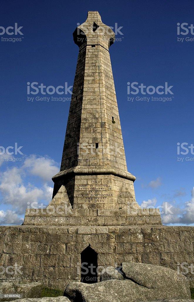 Giant Celtic Cross royalty-free stock photo