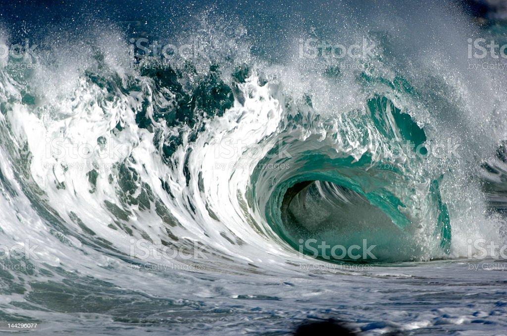 Gigantische Welle in hawaii – Foto