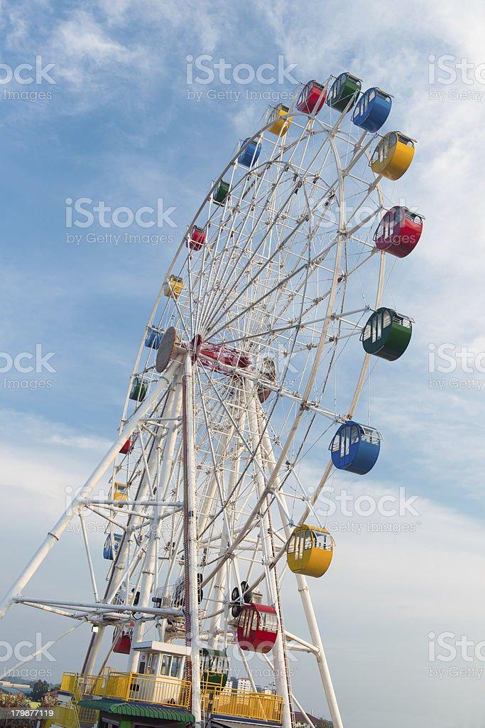 Giant ferris wheel royalty-free stock photo