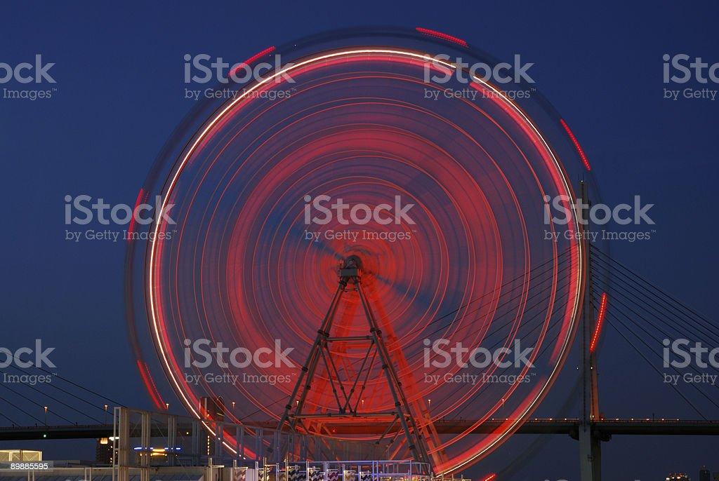 rueda de ferris gigante foto de stock libre de derechos