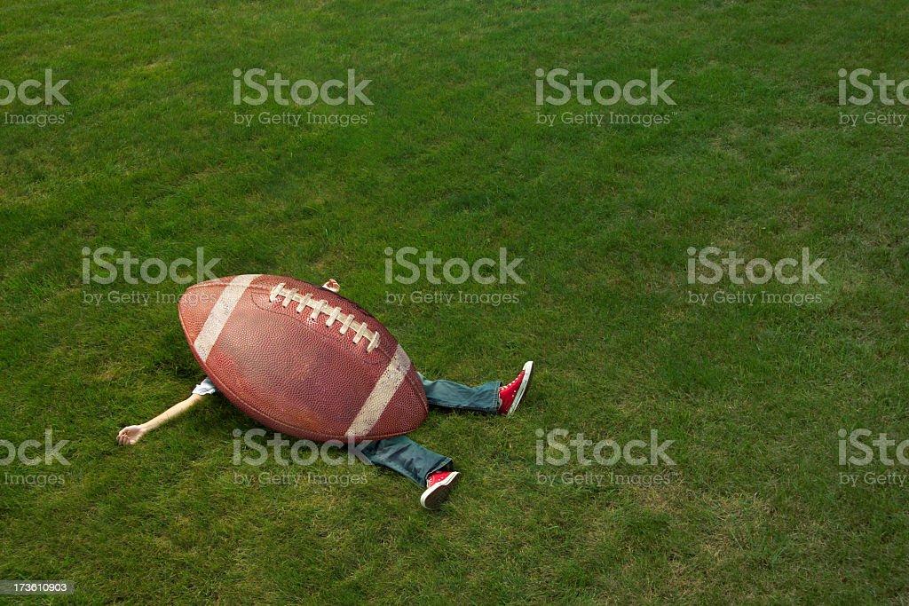 giant football stock photo