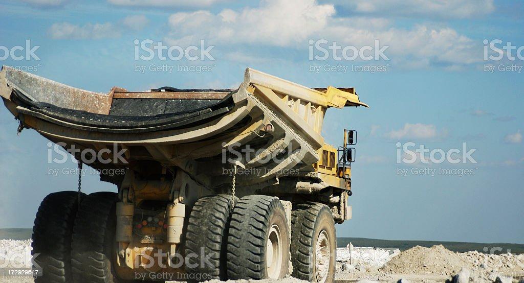 Giant Mining Truck royalty-free stock photo
