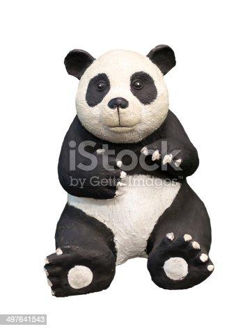 93216608 istock photo Giant Panda isolated 497641543