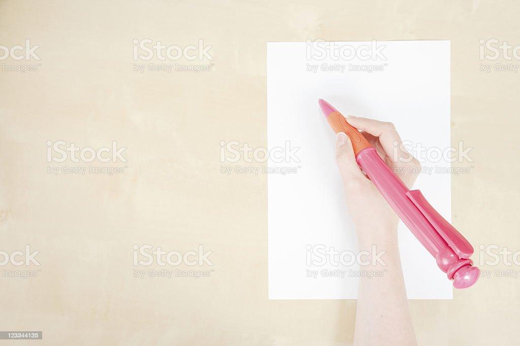 Giant Pen royalty-free stock photo