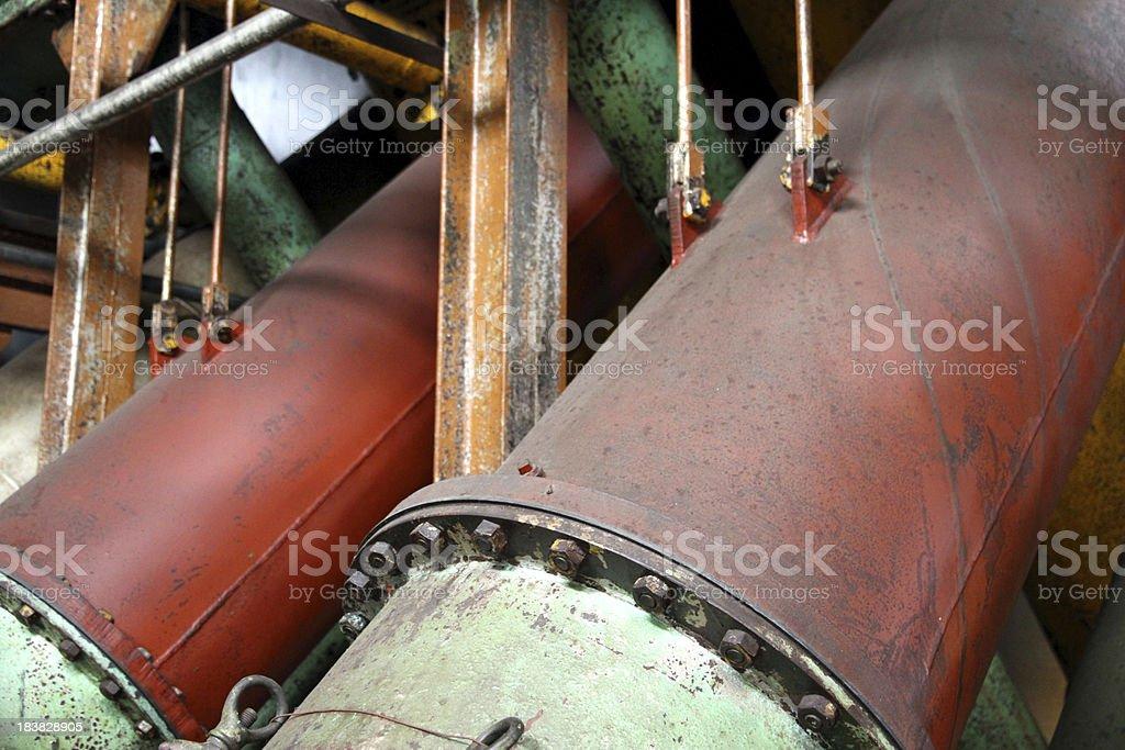 Giant Pipes stock photo