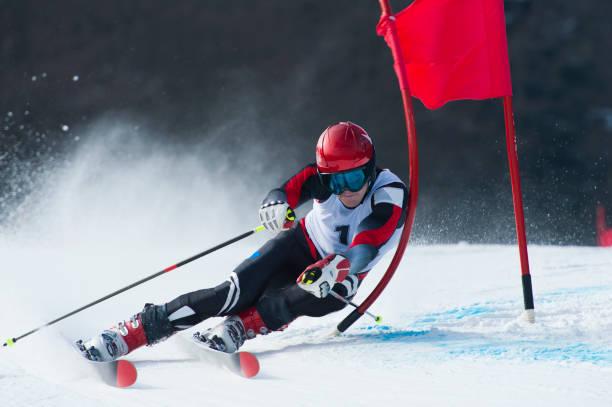 Giant slalom-Rennen – Foto