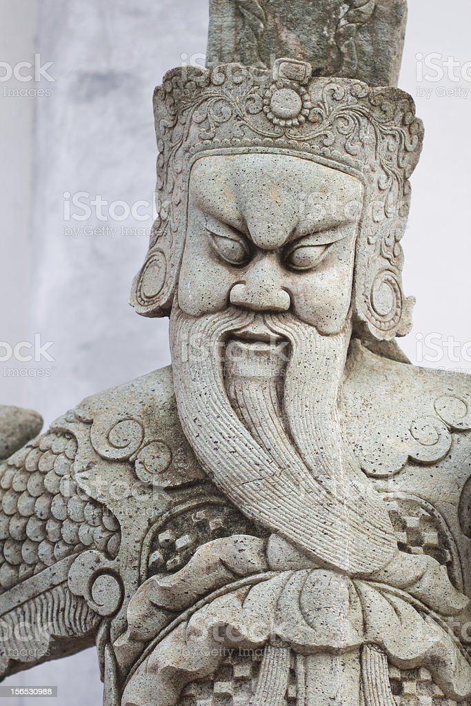 Giant statue royalty-free stock photo