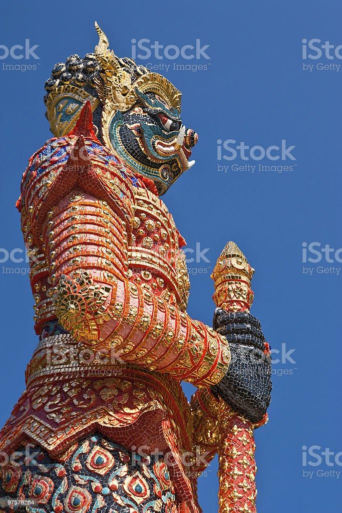 statue géante photo libre de droits