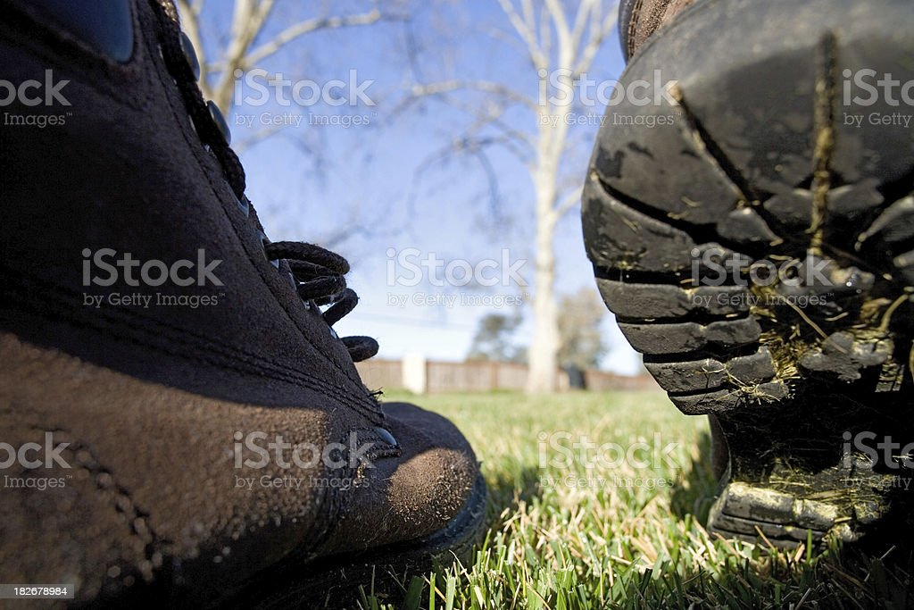 Giant Steps 2of2 royalty-free stock photo