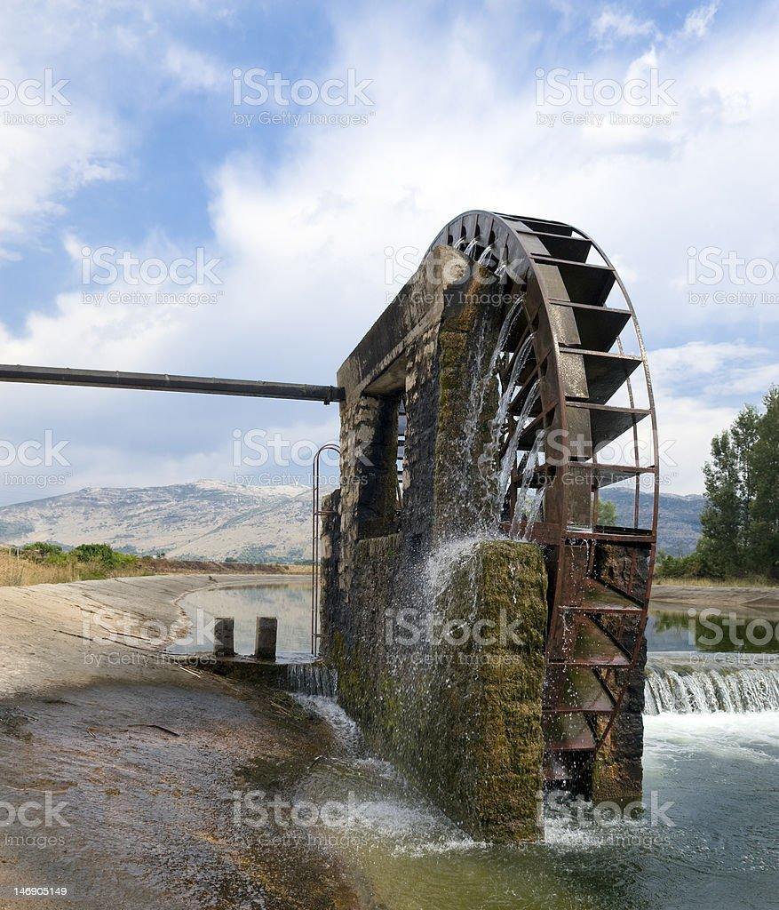 Giant Waterwheel stock photo