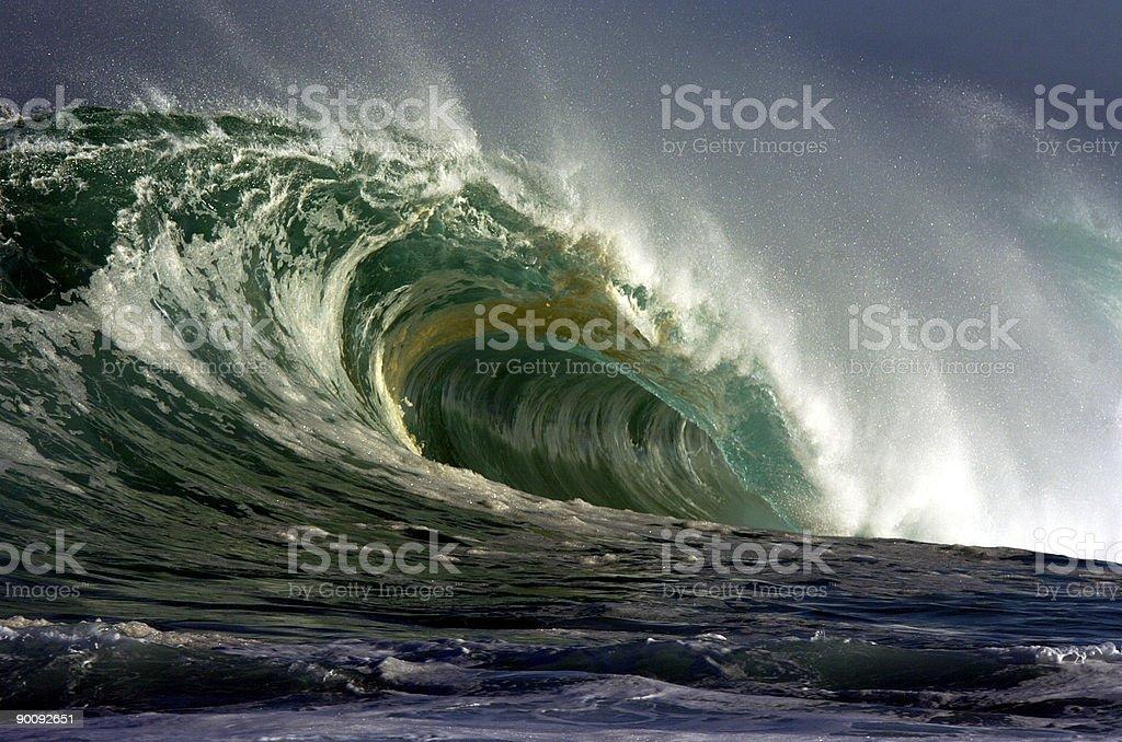 Gigantische Welle brechen – Foto