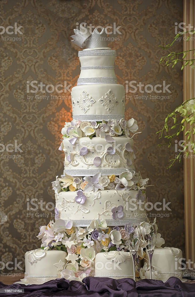 Giant wedding Cake stock photo