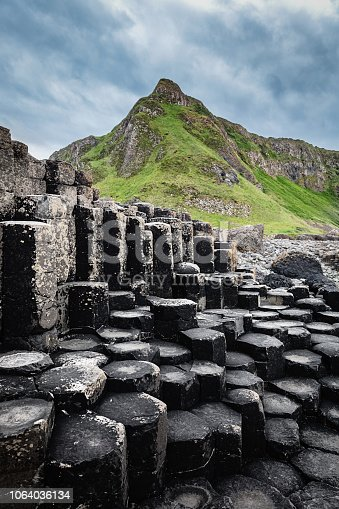 istock Giants Causeway Hexagonal Basalt Columns Northern Ireland 1064036134