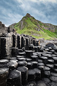 Giants Causeway Hexagonal Basalt Columns Northern Ireland