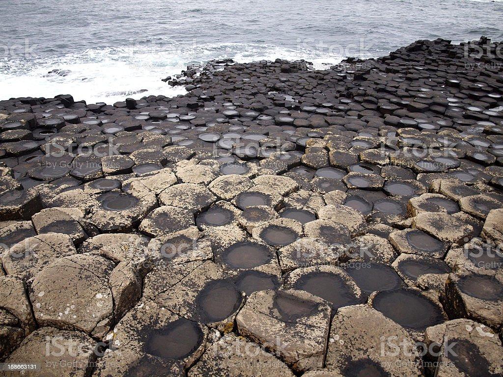 Giant's Causeway, Ireland royalty-free stock photo