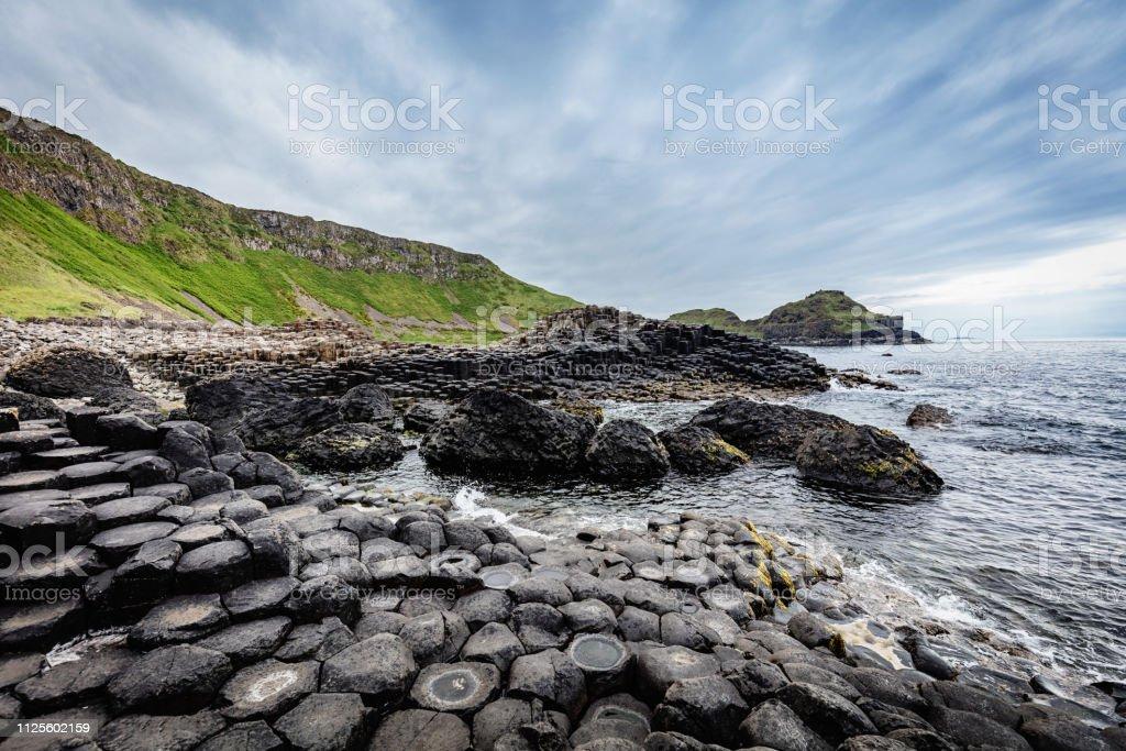 Giants Causeway Northern Ireland stock photo