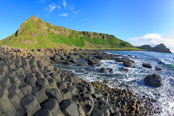 (Giant's Causeway, Irlanda del Norte - foto de stock