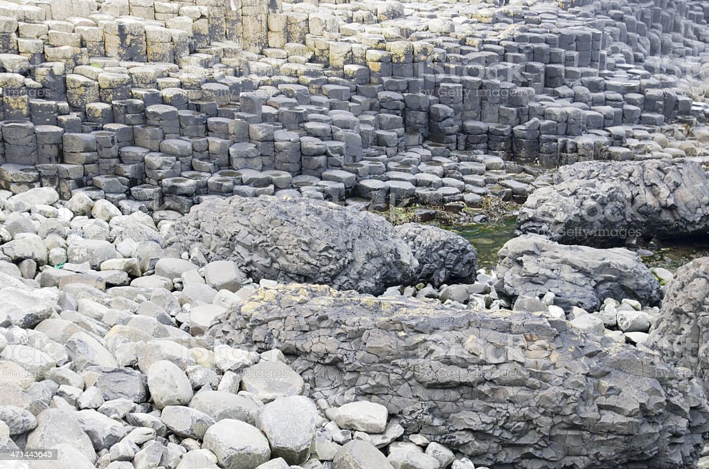 Giant's Causeway (Northern Ireland) royalty-free stock photo