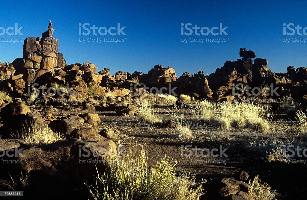 Giants playground in namibia 免版稅 stock photo