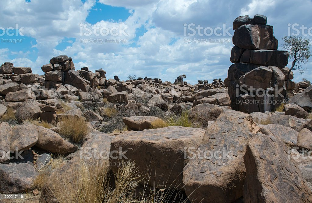 Giants playground, Namibia stock photo