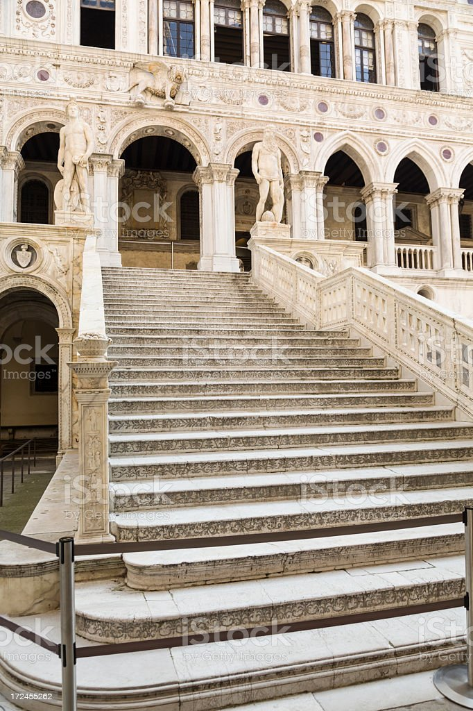 Giants Staircase, Venice, Italy royalty-free stock photo
