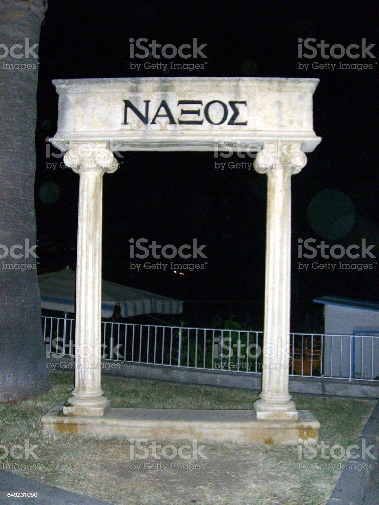 Giardini Naxos, Sicily stock photo