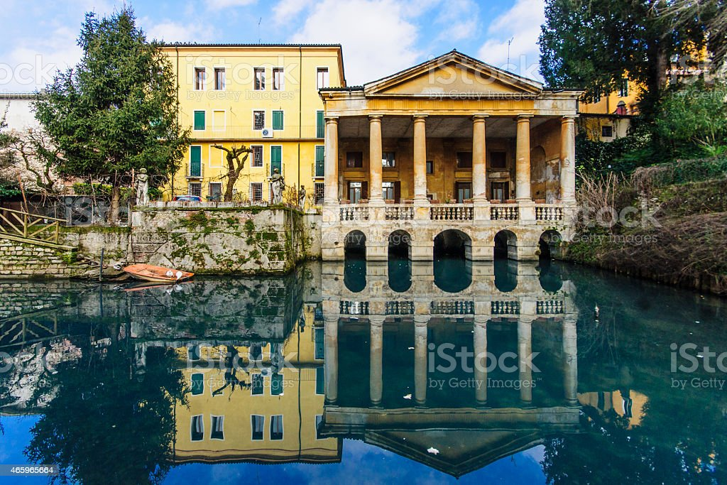 Giardino Salvi, Vicenza stock photo