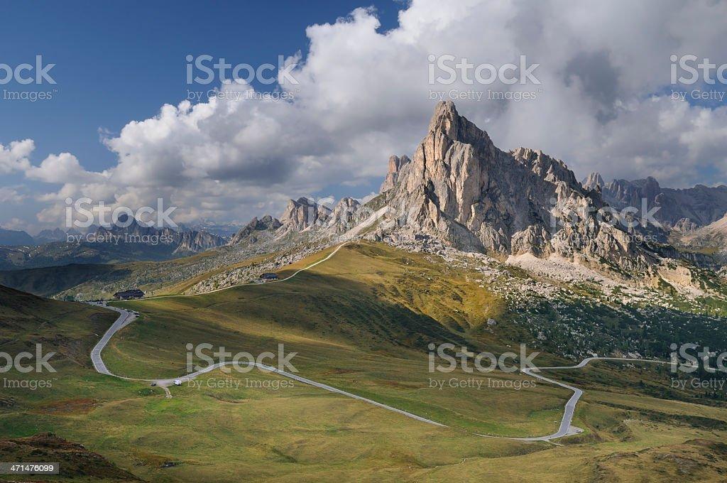 Giau Pass (Dolomites - Italy) stock photo