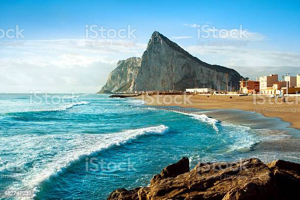 Photo of Gibraltar and the Sea