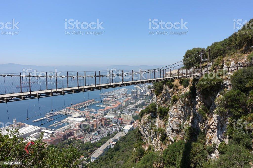 Gibraltar-Hängebrücke – Foto