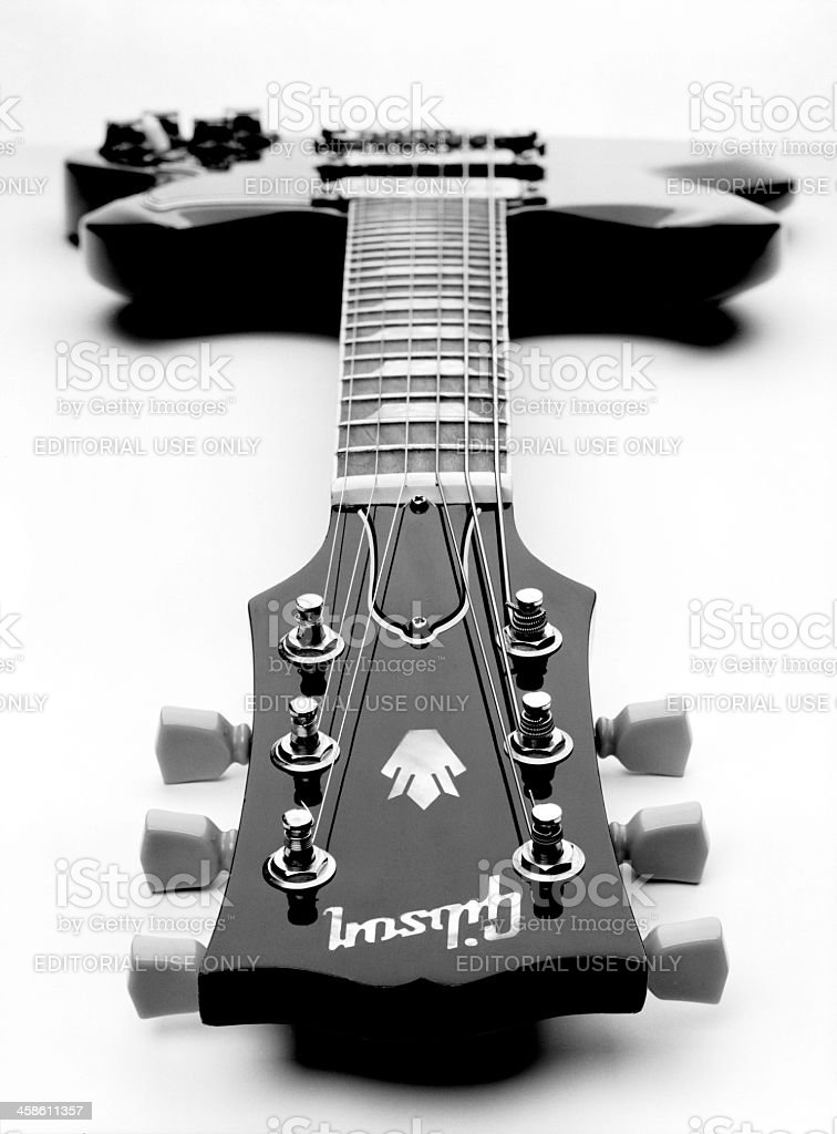 Gibson SG Electric Guitar stock photo