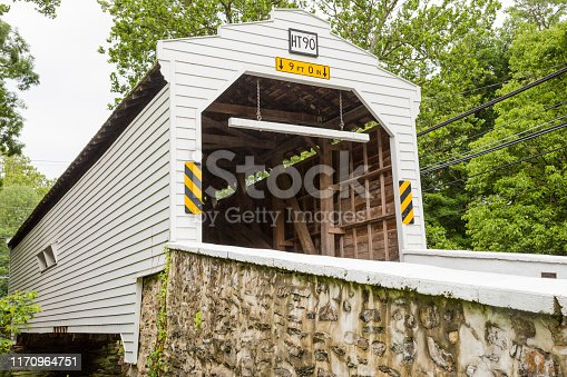 Gibson's Covered Bridge, Bradford Township, Pennsylvania
