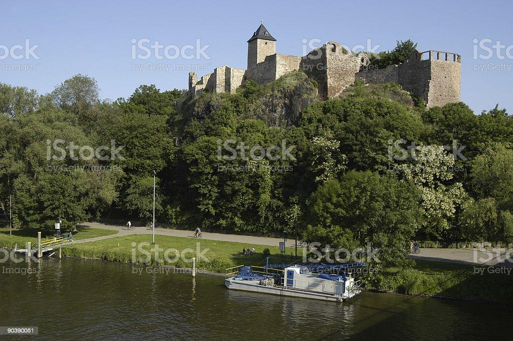 Burg Giebichenstein royalty-free stock photo