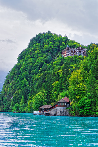 istock Giessbach landing stage Lake Brienz Brienzer Rothorn mountain Bern Switzerland 640285008