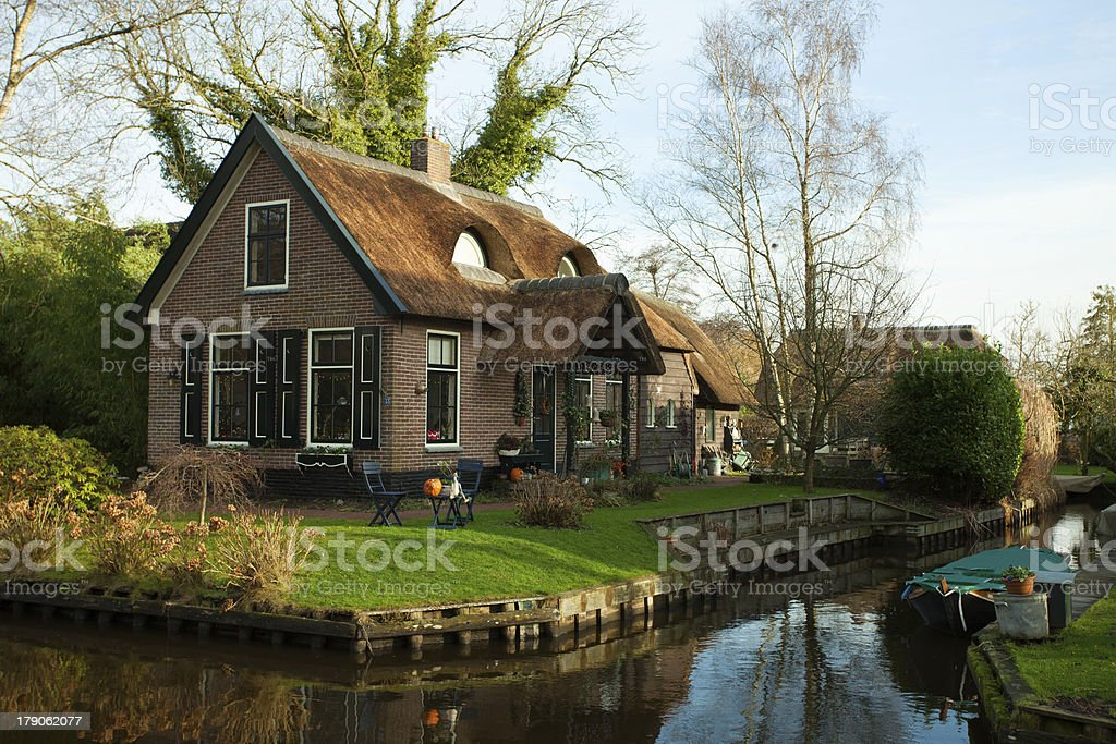 Giethoorn. stock photo